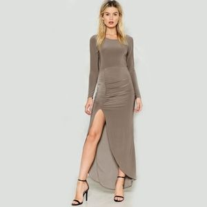 Nasty Gal Save the Queen Maxi Dress